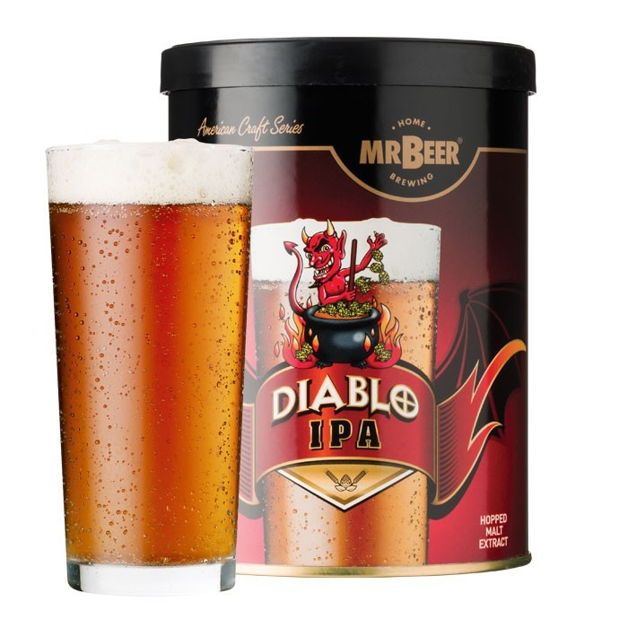 Mr.Beer Diablo IPA Craft Refill