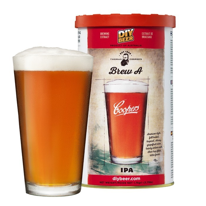 homas Coopers Brew A IPA Brew Can