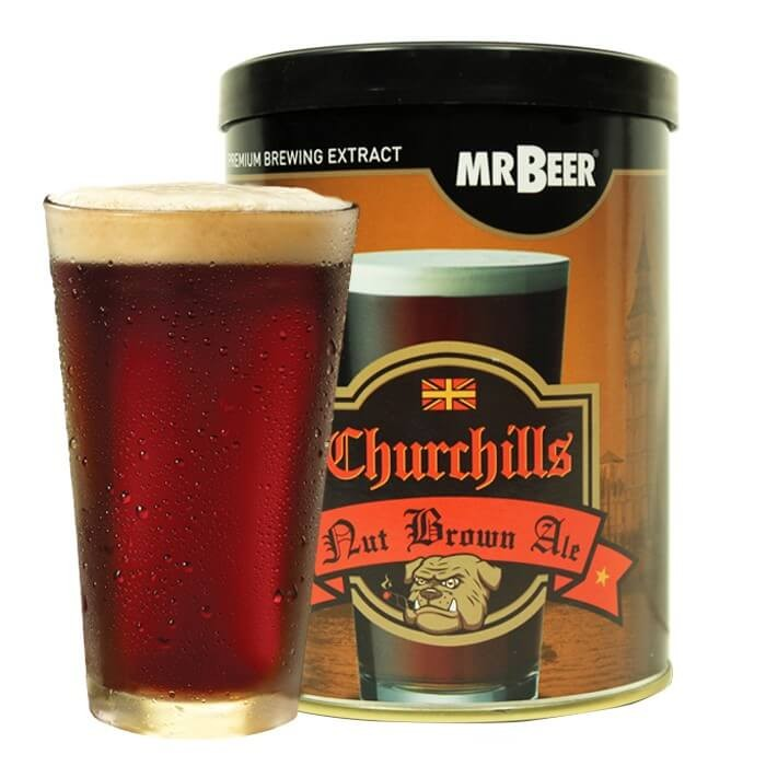Mr.Beer Churchills Nut Brown Ale Craft Refill