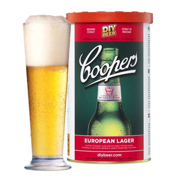 Coopers European Lager Concentrate