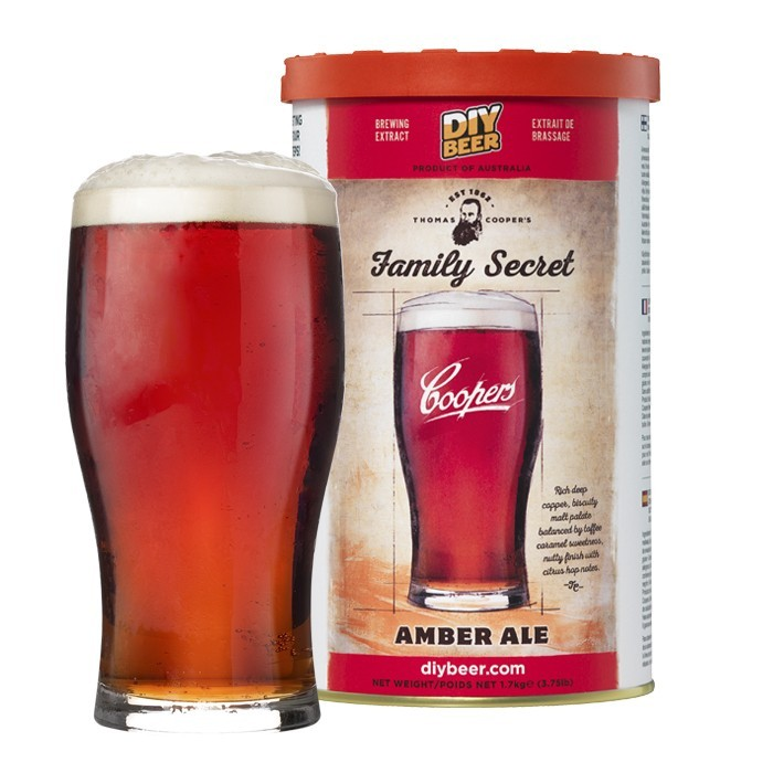 Thomas Coopers Family Secret Amber Ale Refill Pack