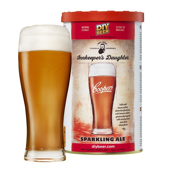 Thomas Coopers Innkeepers Daughter Sparkling Ale Brew Can