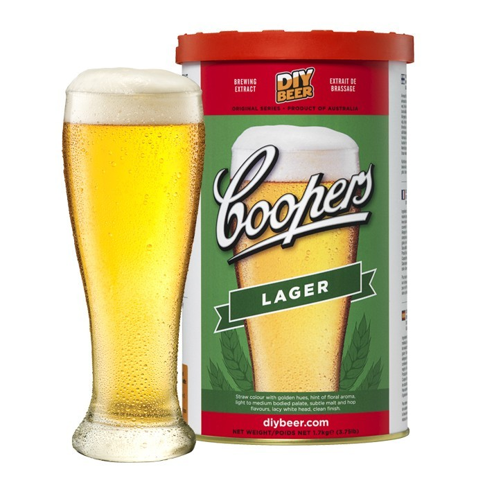 Coopers Lager Concentrate