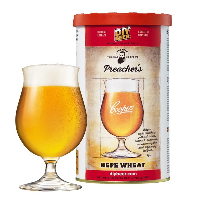 Thomas Coopers Preacher's Hefe Wheat  Refill Pack