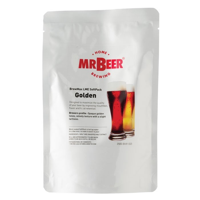 BrewMax LME SoftPack - Golden