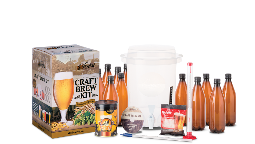 Coopers diy beer craft brew kit for Craft beer brewing kit